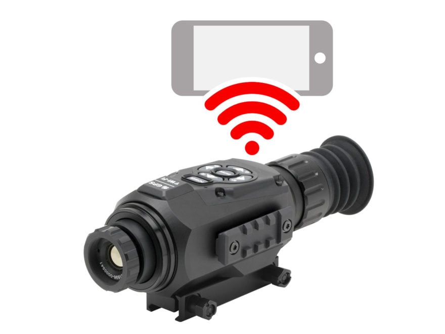 ATN ThOR HD Thermal Rifle Scope 1-10x 19mm 640x480 with HD Video Recording, Wi-Fi, GPS,...