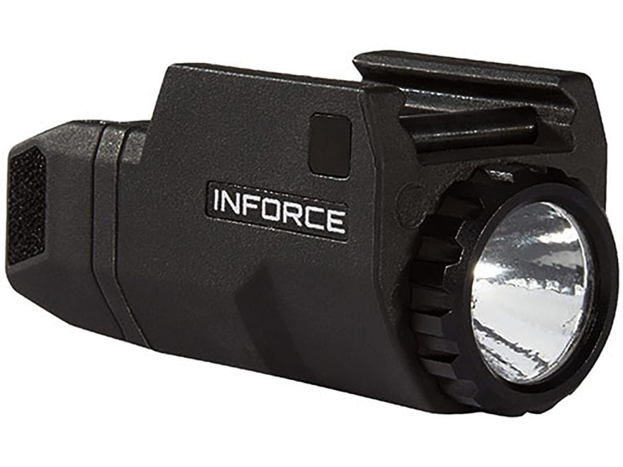 Inforce APLc Compact Glock Tactical Weapon Light LED with 1 CR2 Battery Fiber Composite