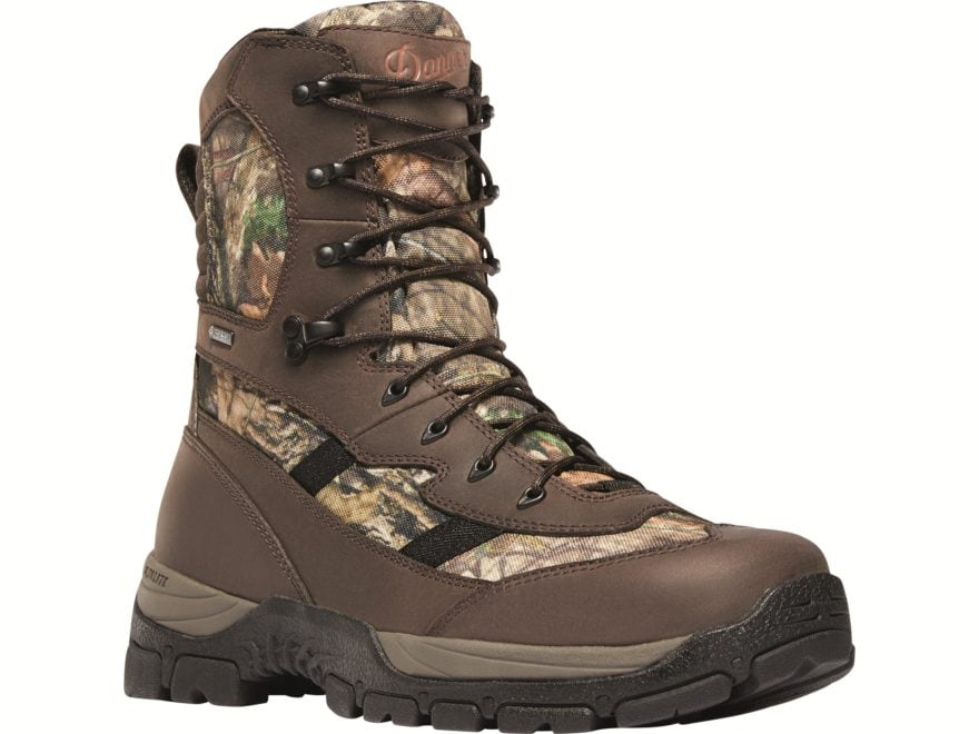 """Danner Alsea 8"""" Waterproof 1000 Gram Insulated Hunting Boots Leather/Synthetic Men's"""