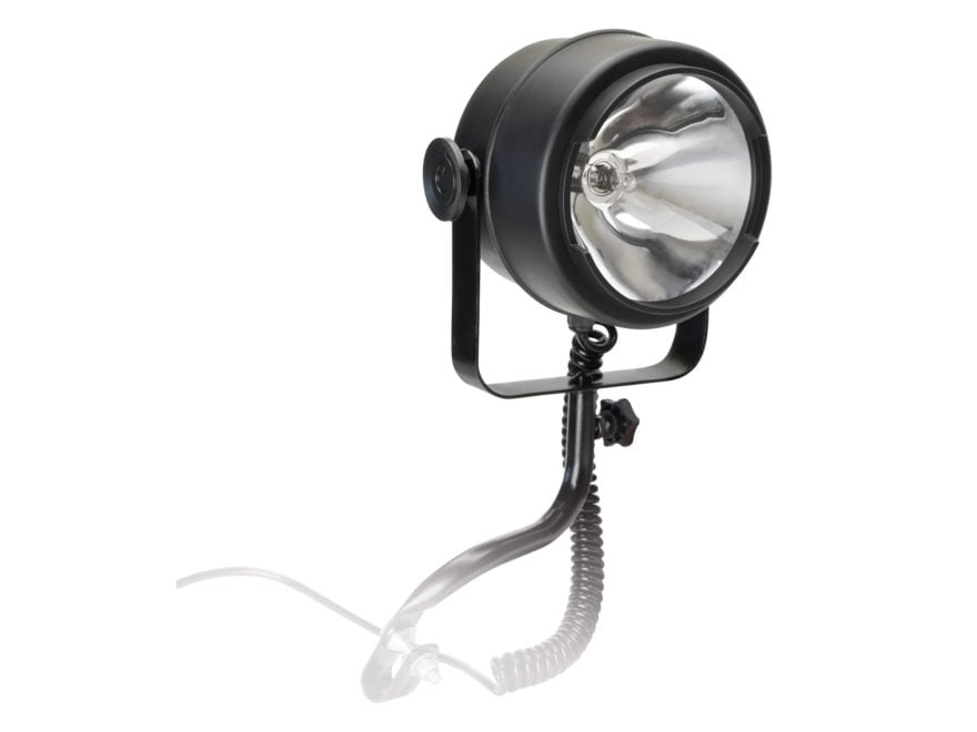 Cyclops ATV 1500 Lumen Spotlight Halogen 12 DC Plug-In Polymer Black