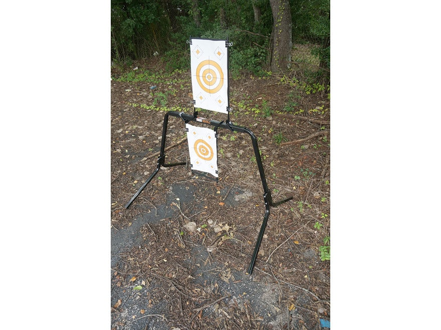 Viking Solutions Adjustable Steel Target Stand Black