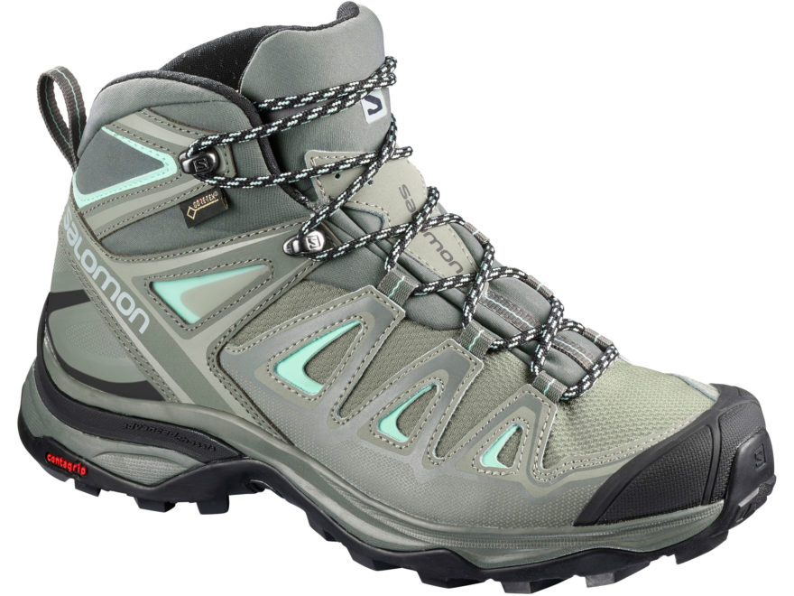 "Salomon X Ultra 3 Mid GTX 5"" Waterproof GORE-TEX Hiking Boots Leather/Synthetic Women's"