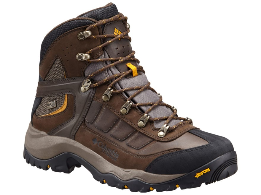 "Columbia Daska Pass III Titanium Outdry 6"" Waterproof Hiking Boots Leather Men's"