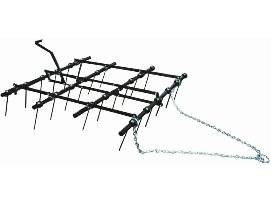 "Field Tuff Adjustable Drag Harrow 48"" X 60"" Chain Style Hitch"