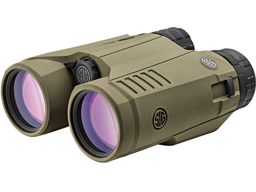 Sig Sauer KILO3000BDX Ballistic Data Xchange Laser Rangefinding Binocular 10x 42mm OD G...