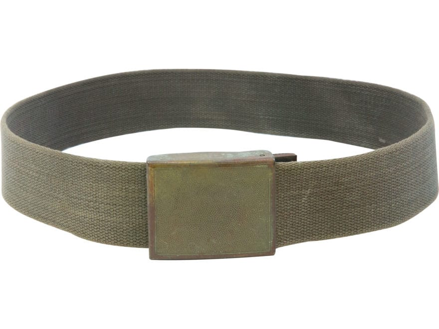 Military Surplus German Combat Belt Olive Drab