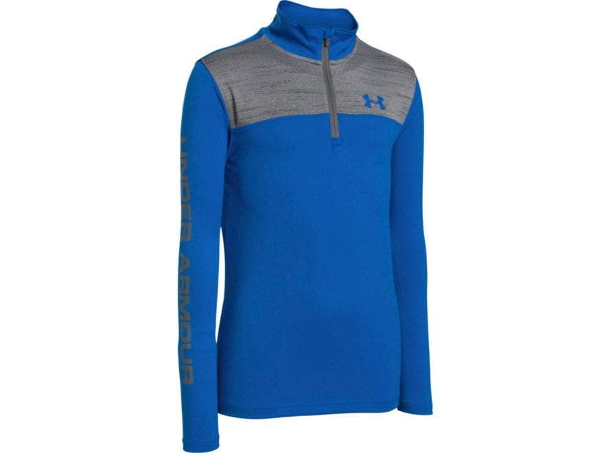 000e23b8 Under Armour Youth UA World of Tech 1/4 Zip Shirt Long Sleeve Polyester  Ultra. Loading image... X. Enlarge Zoom in