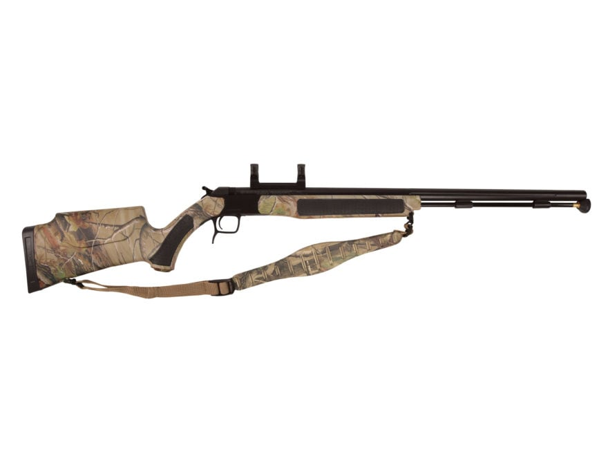 "CVA Accura V2 Muzzleloading Rifle with Dead-On Scope Mount 50 Caliber 27"" Fluted Nitrid..."