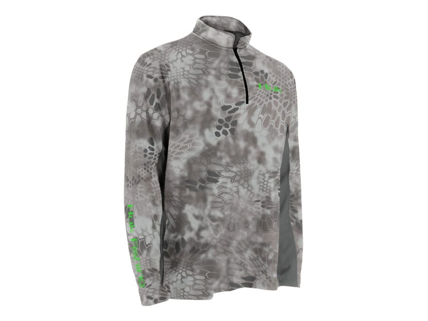 Huk Men's Kryptek Icon 1/4 Performance Shirt Long Sleeve Polyester