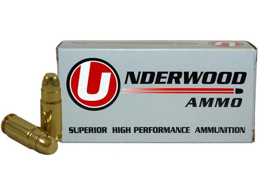 Underwood Ammunition 9x25 Dillon 125 Grain Full Metal Jack Box of 50