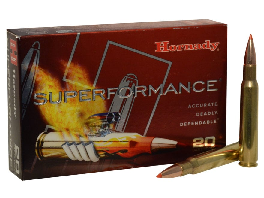 Hornady Superformance GMX Ammunition 30-06 Springfield 180 Grain GMX Boat Tail Lead-Fre...