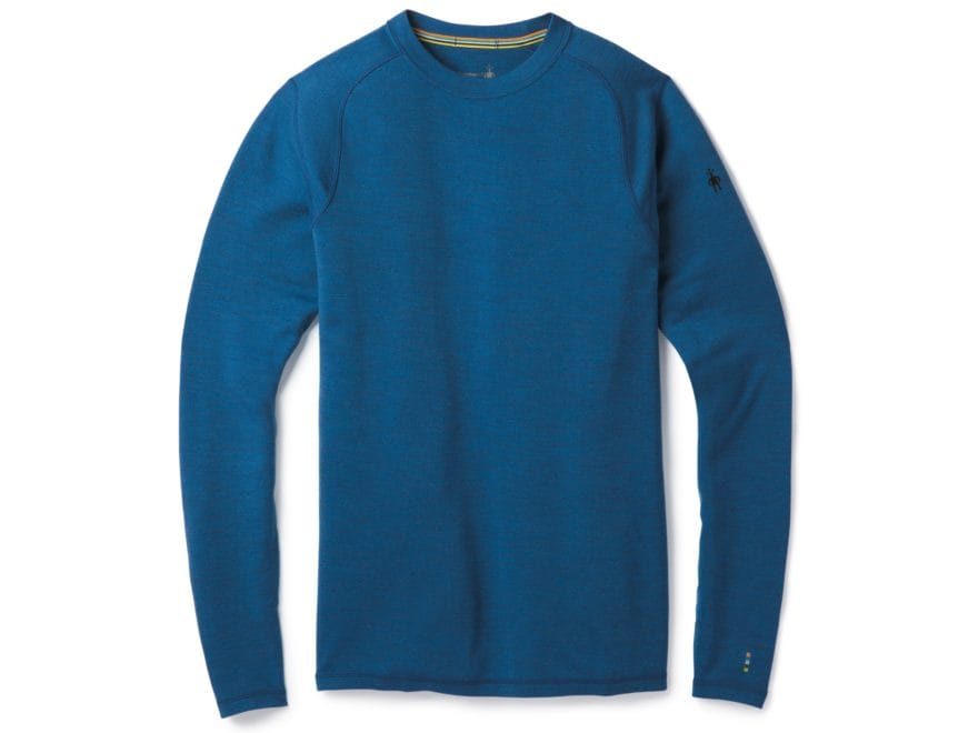 Smartwool Men's Merino 250 Baselayer Crew Shirt Long Sleeve Merino Wool