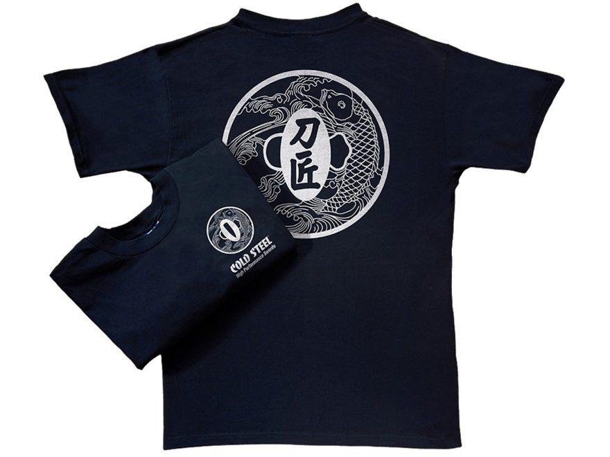 Cold Steel Master Bladesmith T-Shirt Short Sleeve Cotton Black