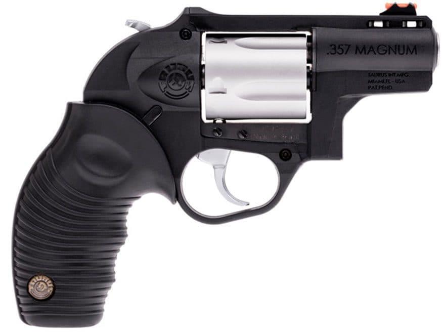 """Taurus 605 Polymer Revolver 357 Magnum 2"""" Barrel 5-Round Black Rubber"""