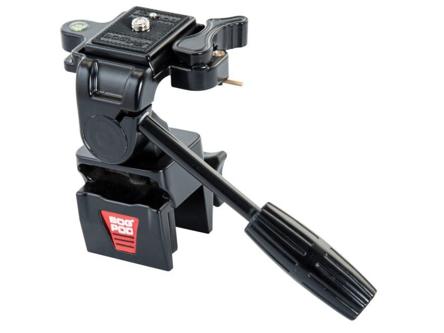 Bog-Pod SSA Spotting Scope Adapter with Window Mount for Bog-Pod Tripods Black