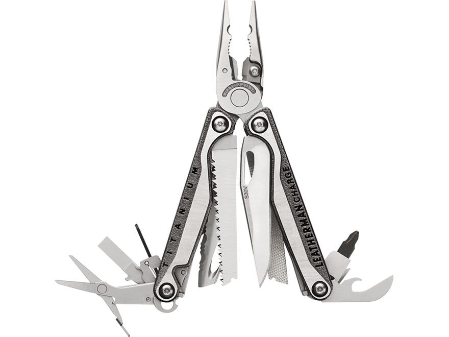Leatherman Charge Plus TTI Multi-Tool Stainless Steel Titanium Handle
