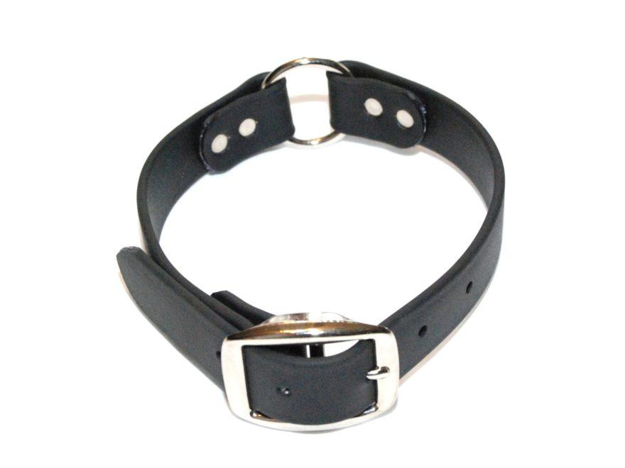 """K-9 Komfort 1"""" Dog Collar Center Ring Tufflex"""
