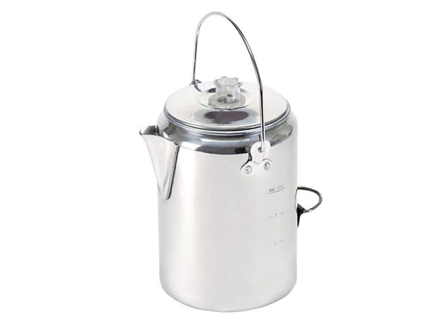 Stansport 9 Cup Percolator Coffee Pot Aluminum