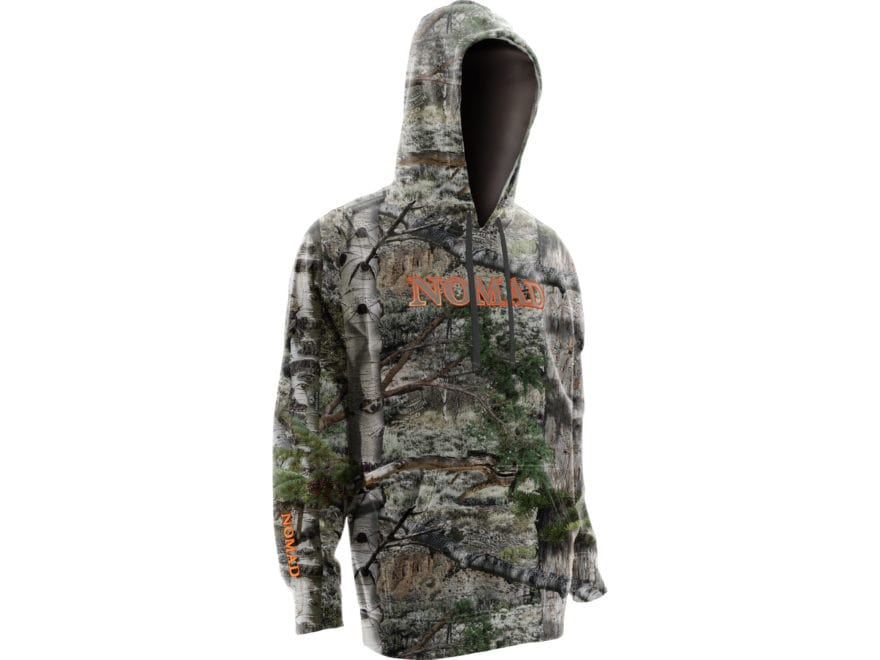 Nomad Men's Camo Logo Hoodie Polyester