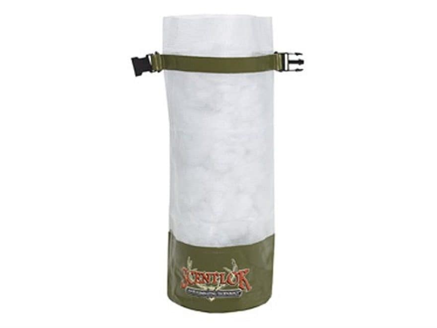 Scent Lok Air Storage Bag Polymer Clear With Green Trim