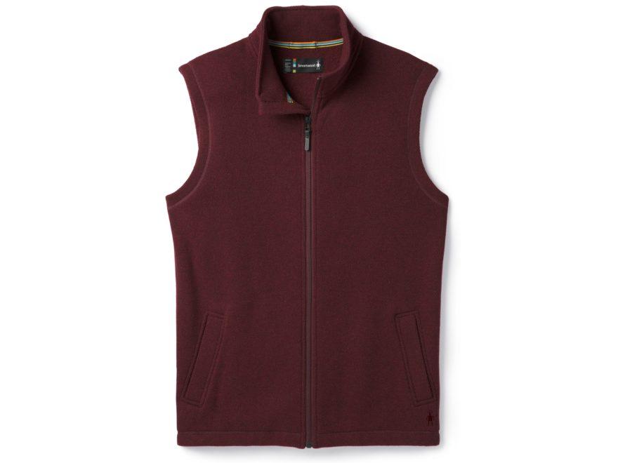 Smartwool Men's Hudson Trail Fleece Vest Polyester/Wool