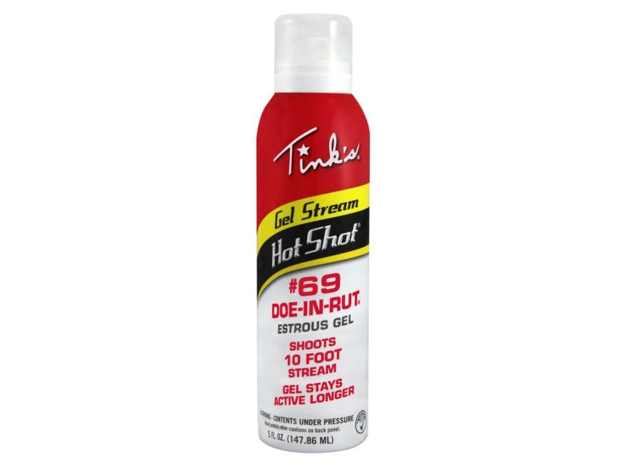 Tink's Gel Stream Hot Shot #69 Doe-in-Rut Deer Scent 5 oz Aerosol