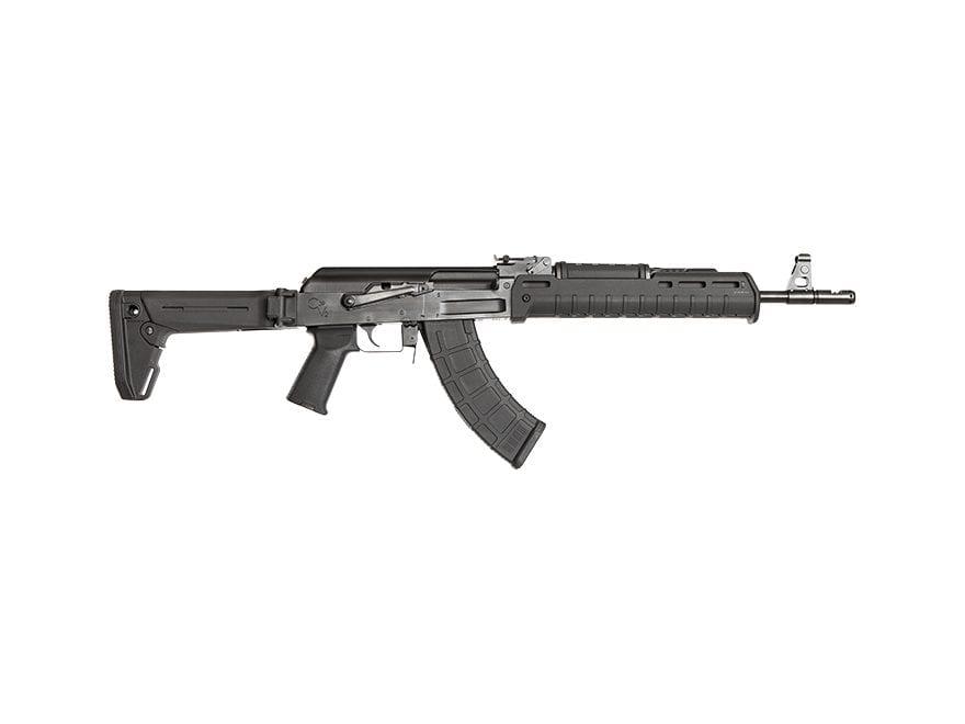 "Century Arms C39V2 Zhukov AK-47 Rifle 7.62x39mm 16.5"" Barrel with Folding Stock, Scope ..."