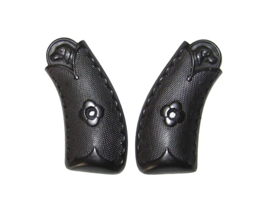Vintage Gun Grips Merwin Hulbert Top Break with Dog's Head 38 Caliber Polymer Black