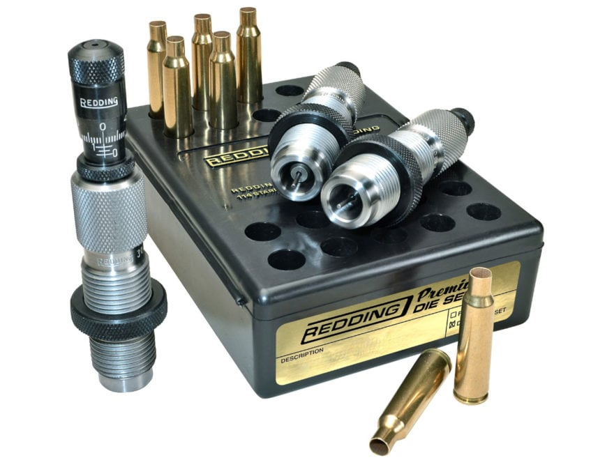 Redding Premium Series Deluxe 3-Die Set