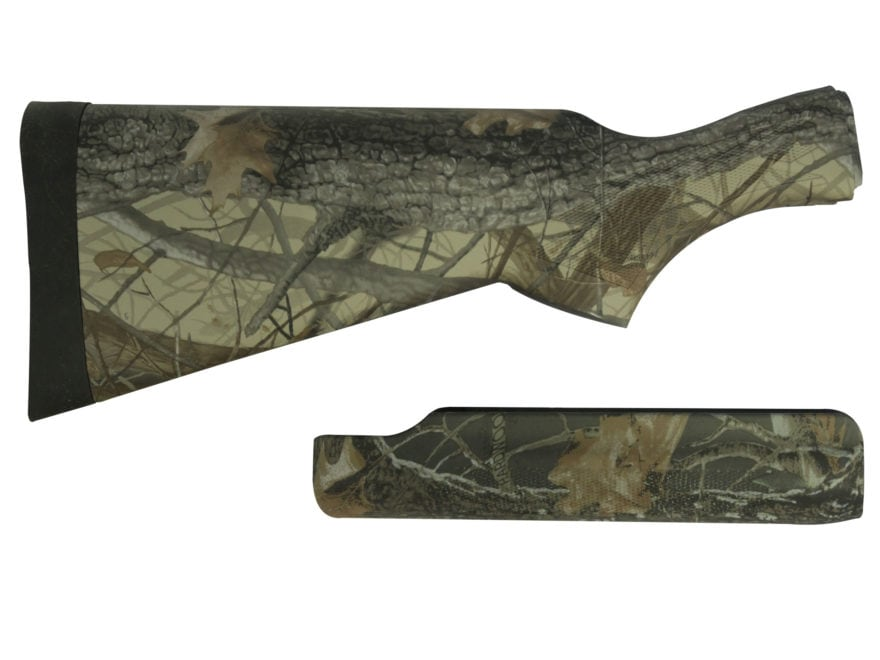 Remington Stock and Forend 870 12 Gauge Supercell Recoil Pad Synthetic Realtree Hardwoods