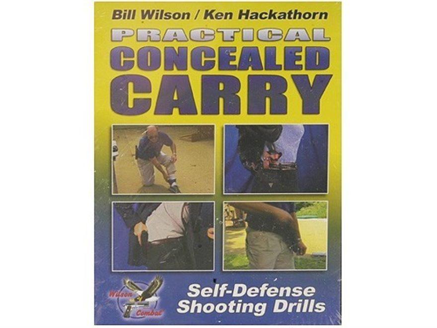 "Gun Video ""Practical Concealed Carry with Bill Wilson & Ken Hackathorn"" DVD"