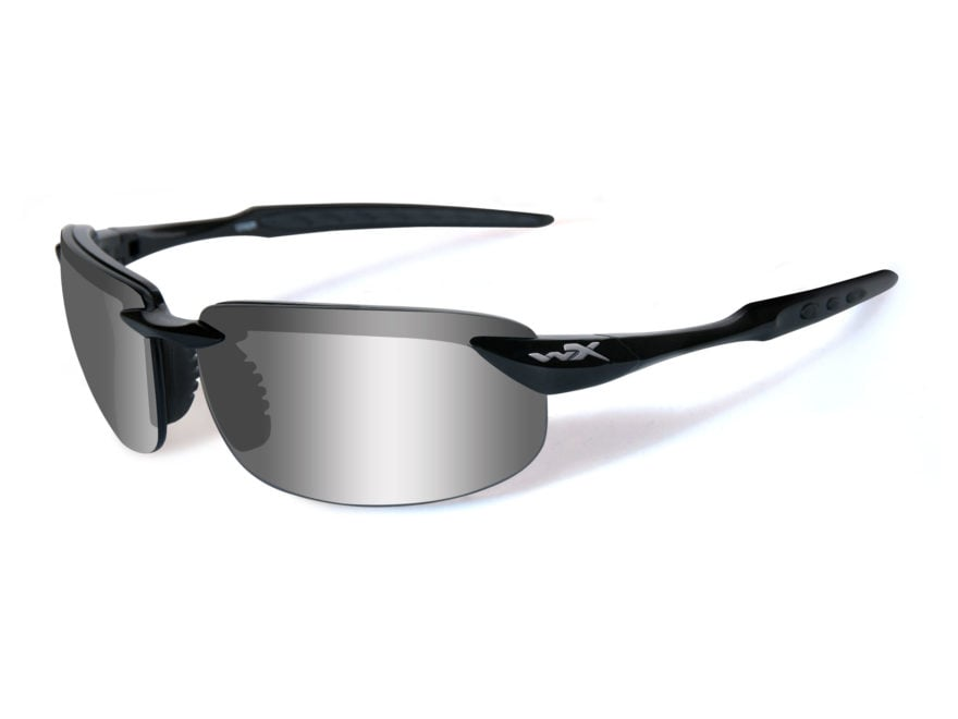 41b0e35d9f Wiley X WX Tobi Polarized Sunglasses Gloss Black Frame - MPN  ACTOB04