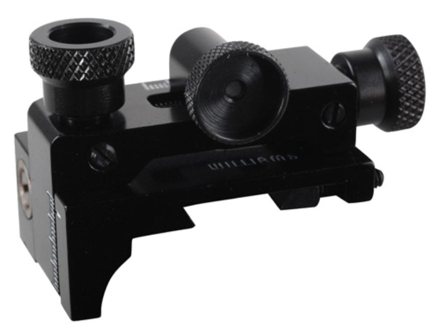 Williams FP-AG Receiver Peep Sight with Target Knobs Air Guns, 22 Rifles with Dovetail ...