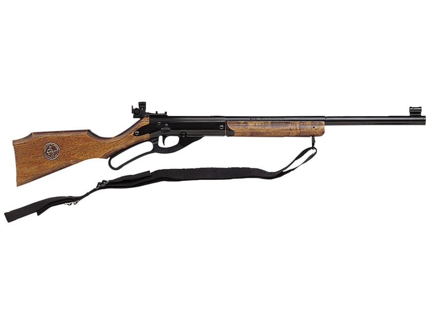Avanti 499 Champion Lever Action Air Rifle 177 Caliber BB Wood Stock Blue Barrel