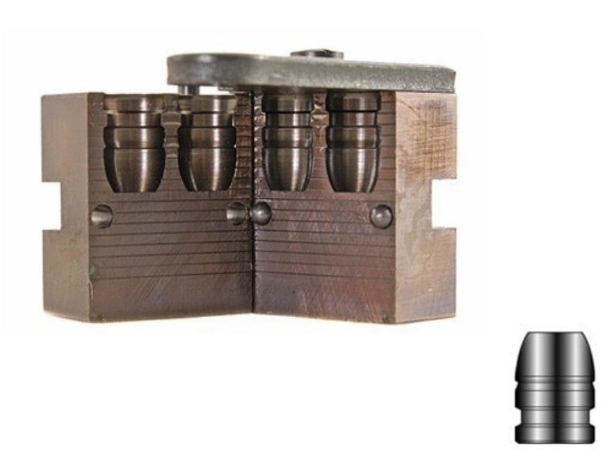 Lyman Bullet Mold #452664 45 Caliber (452 Diameter) 250 Grain Flat Nose