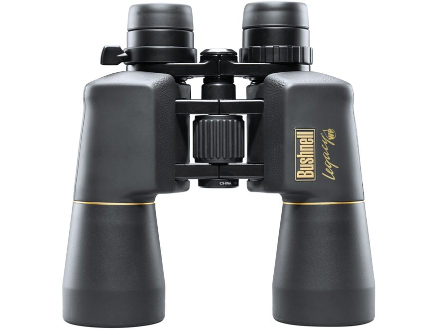 Bushnell Legacy WP Binocular 10-22x 50mm Porro Prism Rubber Armored Black