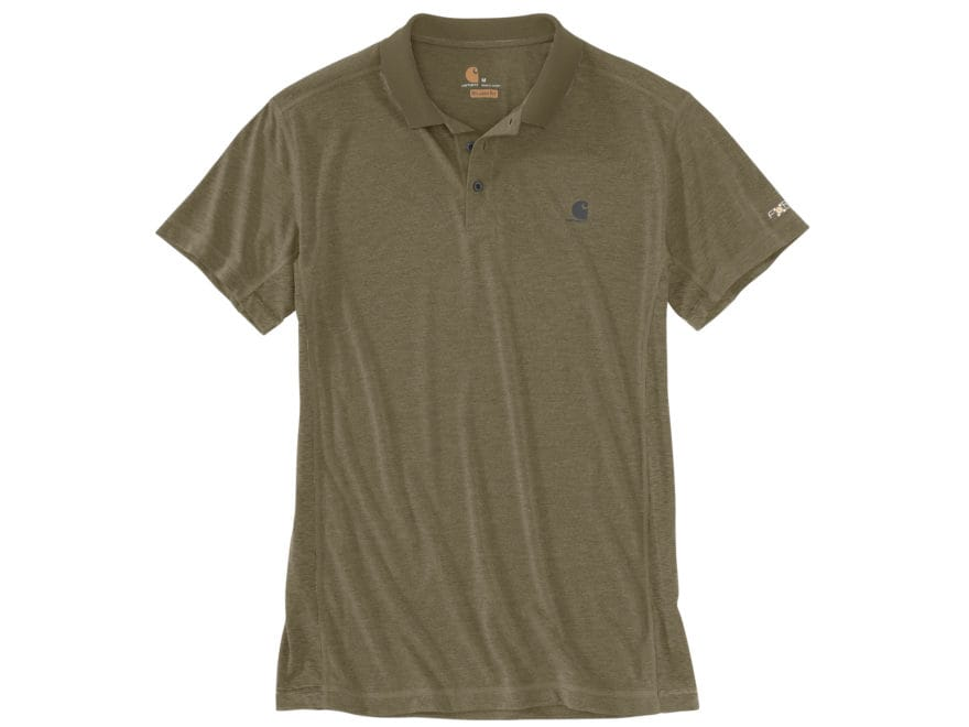 Carhartt Men's Force Extremes Polo Short Sleeve Polyester