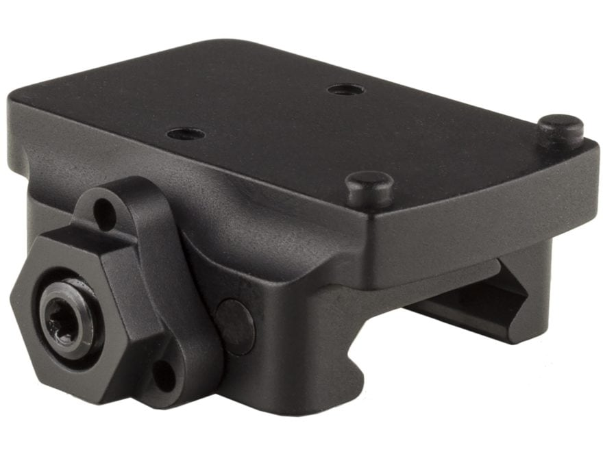 Trijicon RMR Quick-Release Weaver-Style Low Mount Adapter Matte