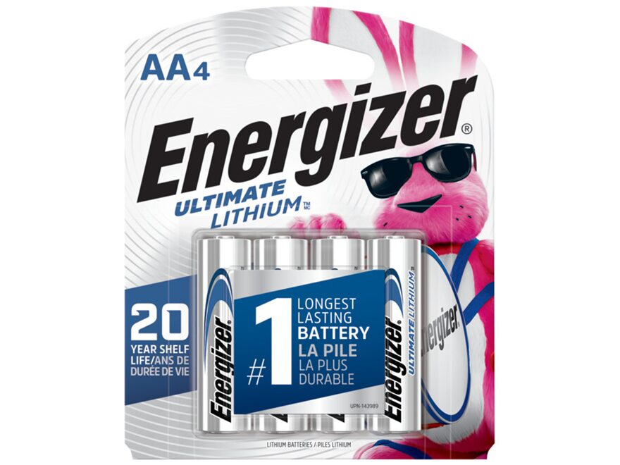 Energizer Ultimate Lithium Battery AA 1.5 Volt Lithium