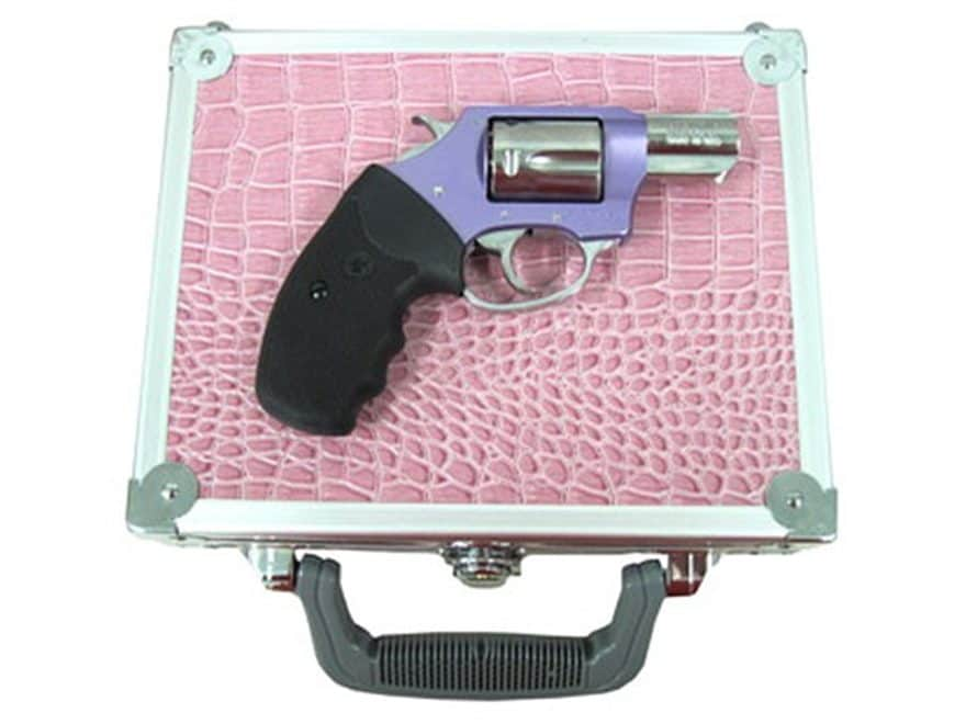 """Charter Arms 53849 Lavender Chic Lady Revolver with Case 38 Special 2"""" Barrel 5-Round L..."""