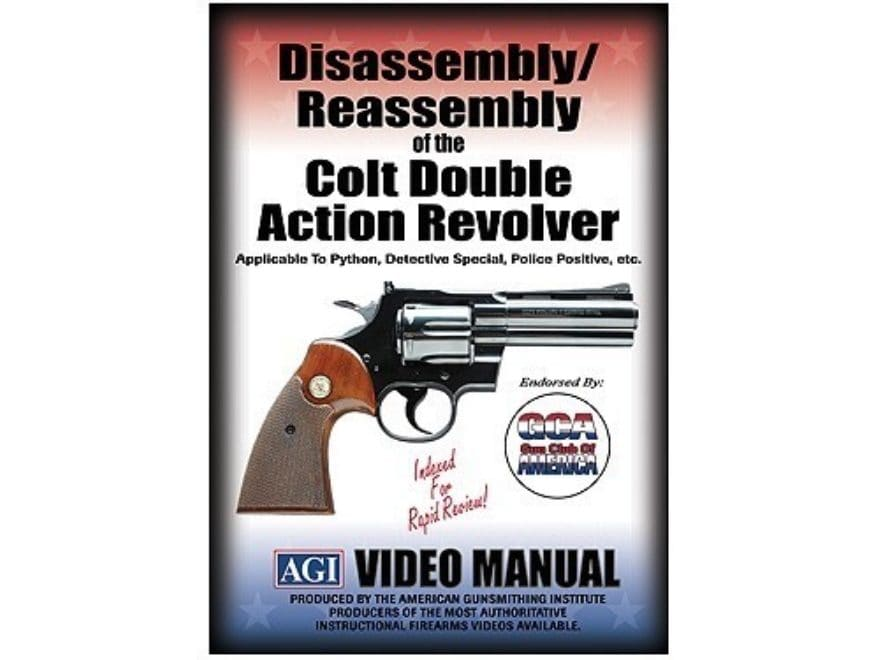 "American Gunsmithing Institute (AGI) Disassembly and Reassembly Course Video ""Colt Doub..."