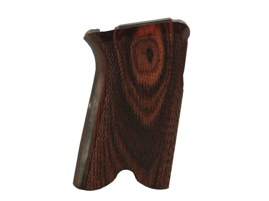 Hogue Fancy Hardwood Grips Ruger P85, P89, P90, P91 Checkered