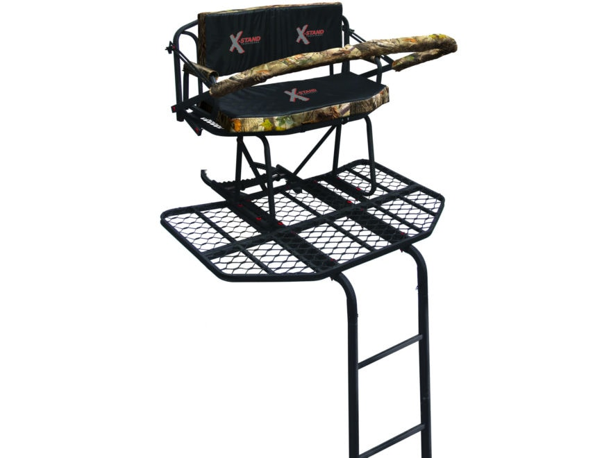 X-Stand Big Bubba 16' Double Ladder Treestand Steel