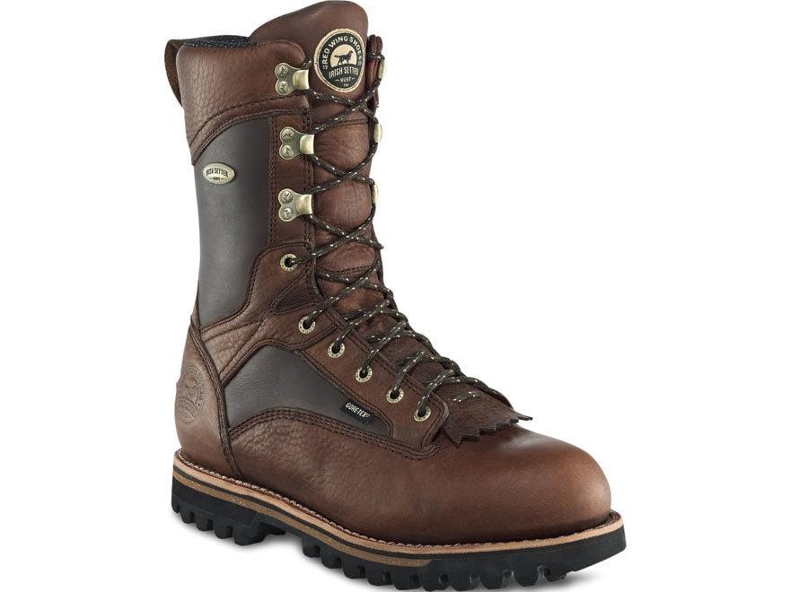 "Irish Setter Elk Tracker 12"" Waterproof GORE-TEX 600 Gram Insulated Hunting Boots Leath..."