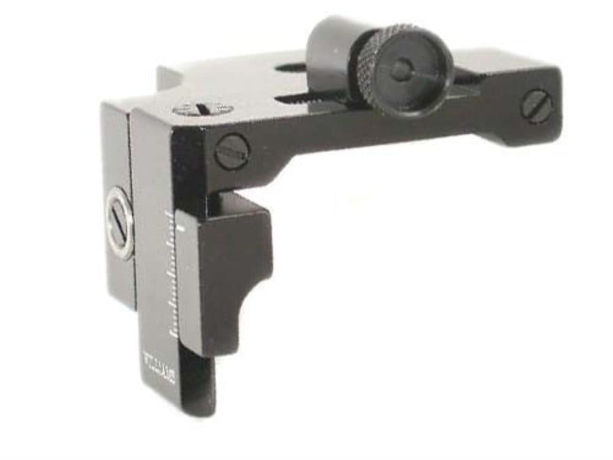 Williams FP-GR Receiver Peep Sight Air Guns, 22 Rifles with Dovetail Receivers and Low ...