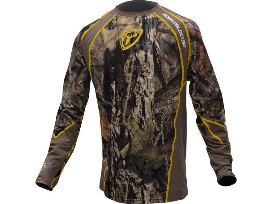 ScentBlocker Men's 1.5 Performance Long Sleeve Crew Shirt
