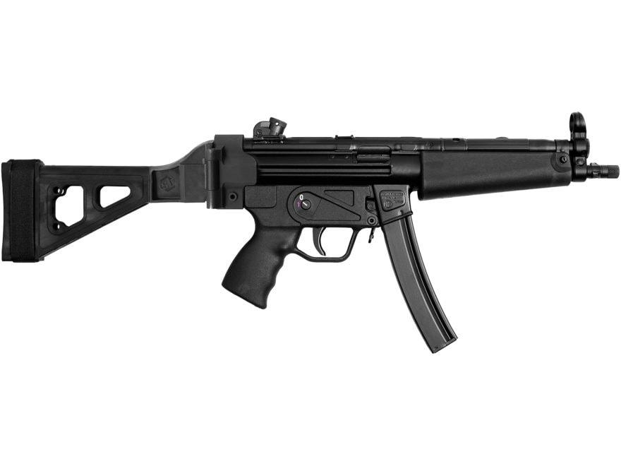 "Zenith Z-5RS SB Classic Pistol 9mm Luger 8.9"" Barrel 30-Round Stabilizing Brace Matte S..."