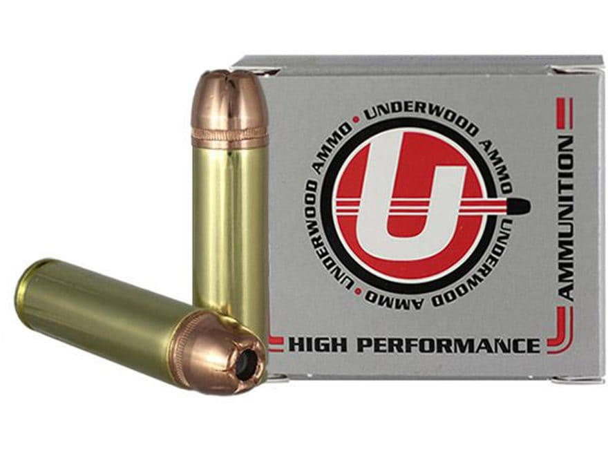 Underwood Ammunition 500 Auto Max 350 Grain Hornady XTP Jacketed Hollow Point Box of 20