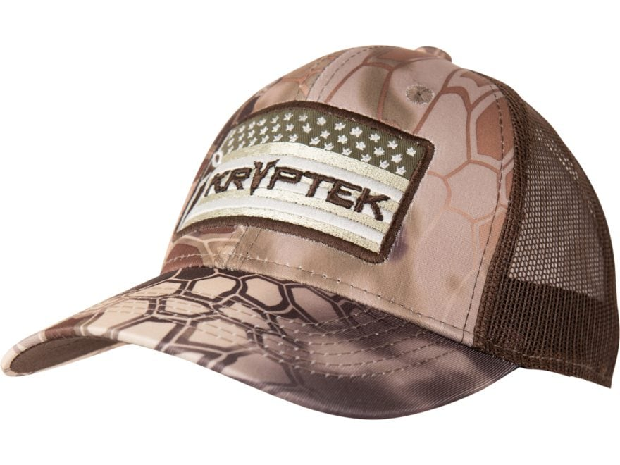 Kryptek American Warrior Hat Highlander Camo