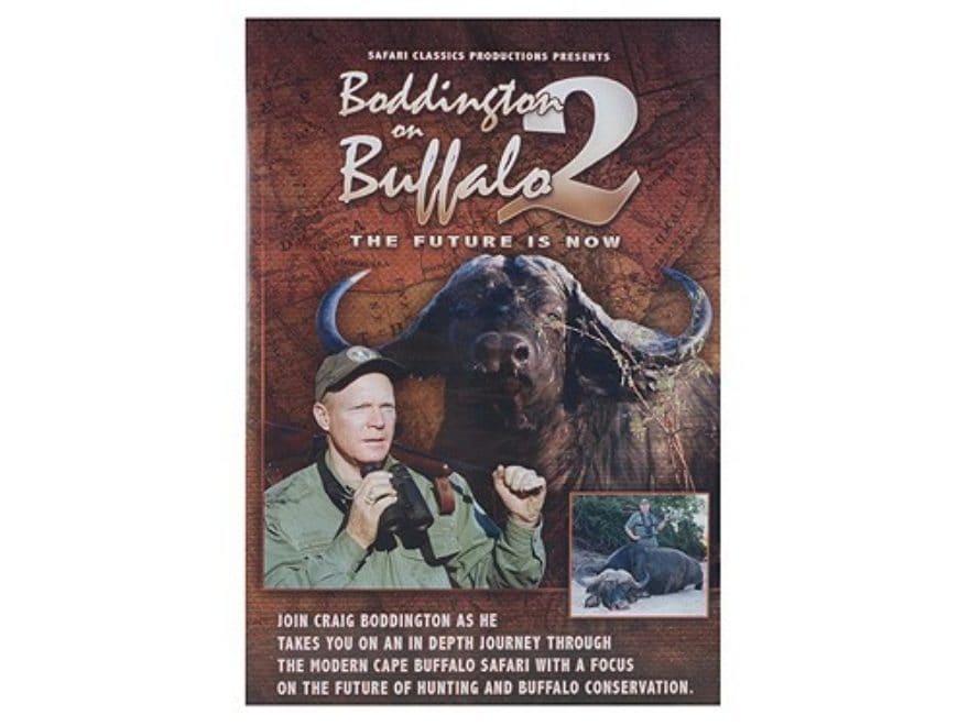 "Safari Press Video ""Boddington on Buffalo 2"" DVD"